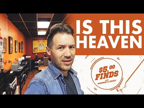 Is This Audio HEAVEN? | $5 Finds With Andrew & Kristi - EP02