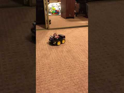 My first self driving car !