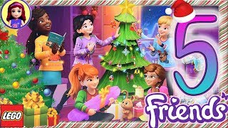 Day 5 Build your Christmas Tree Decorations - Lego Friends Advent Calendar 2018