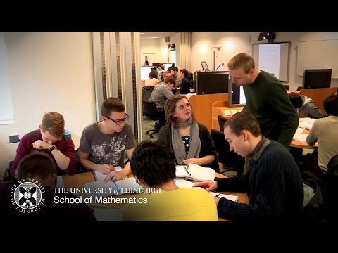 Studying Mathematics at the University of Edinburgh