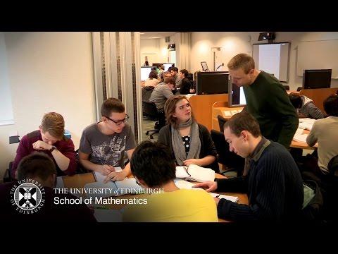Studying Mathematics at the University of Edinburgh