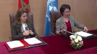 Le Maroc et l'ONU signent un accord pour l'intégration de l'approche genre dans le secteur de l'eau