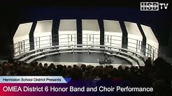 Hermiston High - OMEA District 6 Honor Band and Choir Preformance 2015