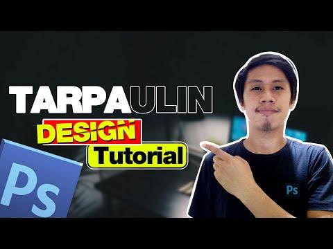 Tarpaulin Design Tutorial in Photoshop   Basic Editing Tutorial TAGALOG
