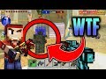 HOW IS THIS POSSIBLE!! - Pixel Gun 3D WTF Turret Mod