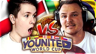 FIFA 18: YOUnited WORLD CUP Viertelfinale - DieHahn vs. RealFIFA 🔥