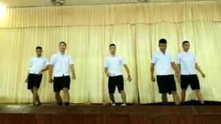 โดเรม่อนสายย่อ_การแสดงของนักศึกษาตำบลแสมสารแก้ไข พอดีกับจังหวะเพลง