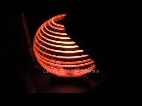 1st Testing of LED Globe