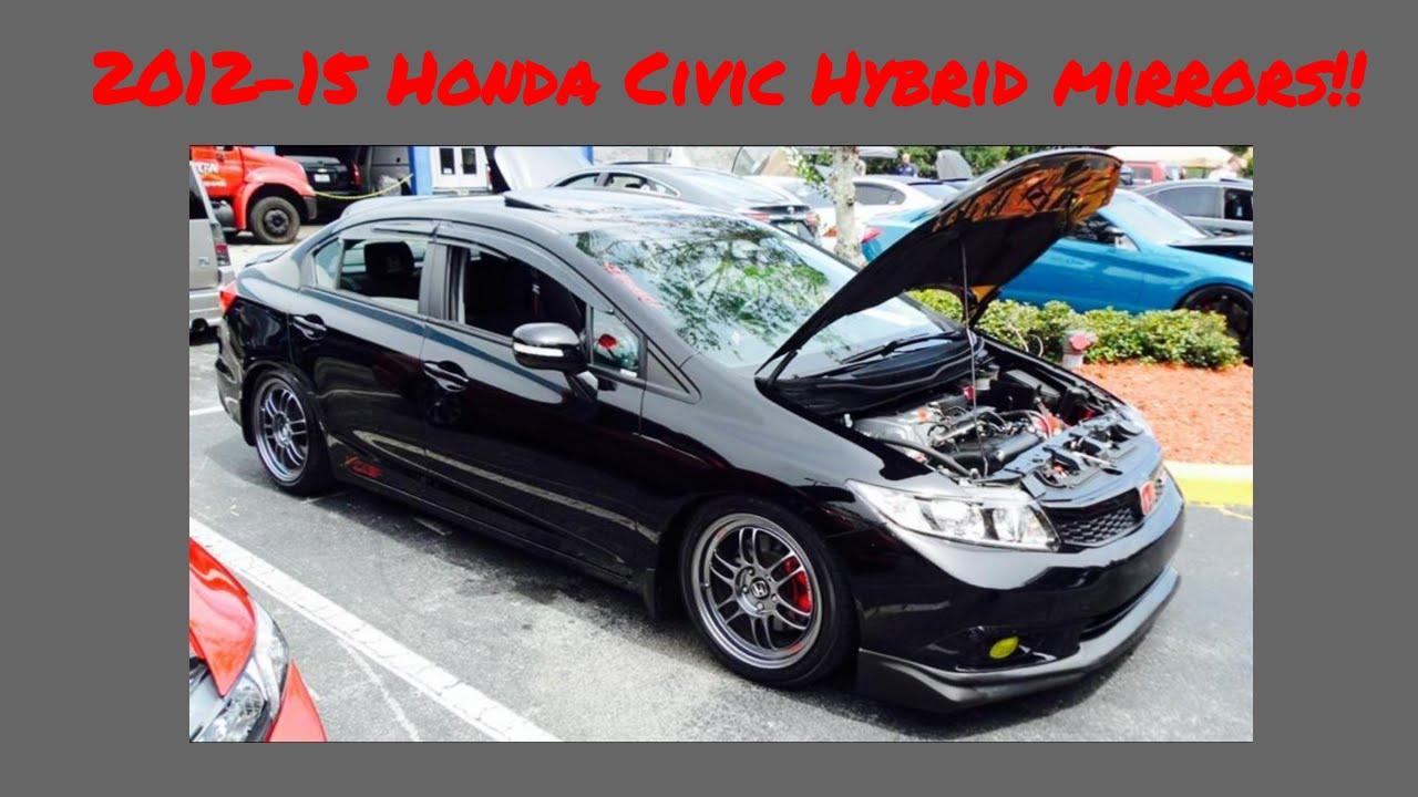 2017 Honda Civic Hybrid Mirrors Diy Do It Yourself