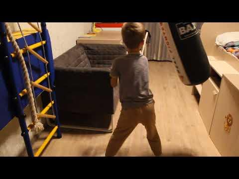 Урок бокса.