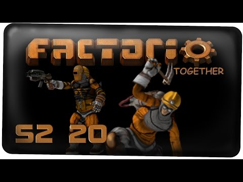 Tenschi baut Solar :D - Factorio S2 #20 [Deutsch German Lets Play Together Multiplayer]