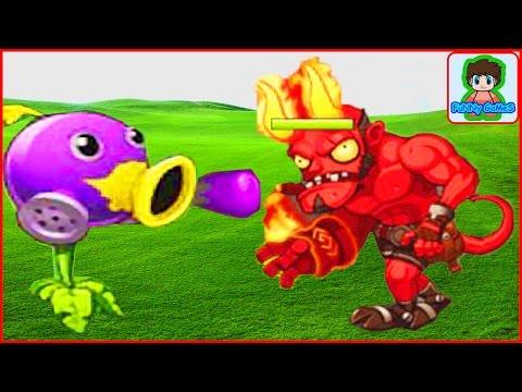 Растение против зомби 3 Plants vs zombie 3 про героев  китайская версия от Фаника 2