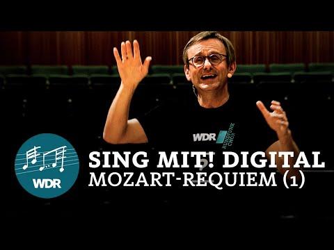 Sing mit! digital: Mozart-Requiem (Probe 1) | Simon Halsey | WDR Rundfunkchor