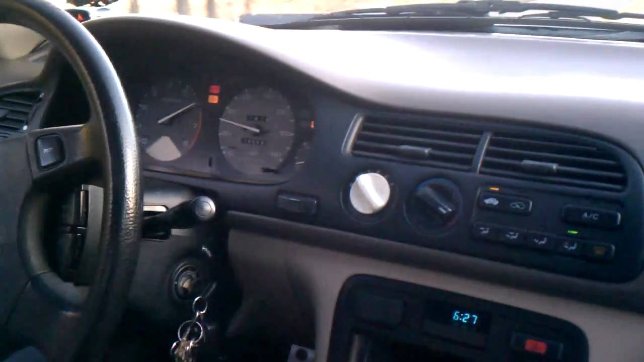 95 accord turbo 9psi run [ 1280 x 720 Pixel ]