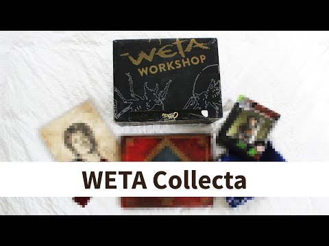 Unboxing & easy Zoll - Weta Collecta Box