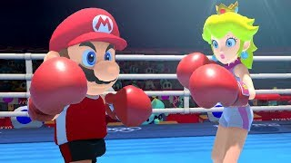 Mario & Sonic at the Tokyo 2020 Olympic Games - Boxing (All Characters)