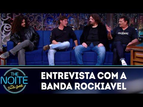 Entrevista com a banda Rockiavel | The Noite (10/08/18)