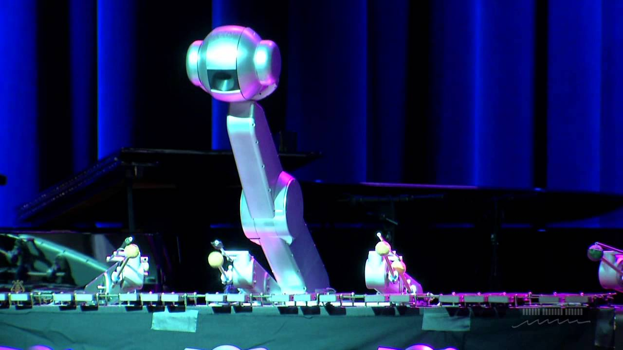Robot Music Shimon Robotic Dance Of Jupiter And Venus Youtube