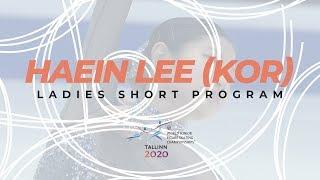 H Lee Ladies Short Program ISU World Junior Figure Skating Championships WorldJFigure