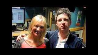 Noel Gallagher and Jo Whiley BBC Radio 2 on 13th October 2014