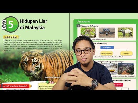 Geografi Kssm T3 B5 Hidupan Liar Di Malaysia Youtube