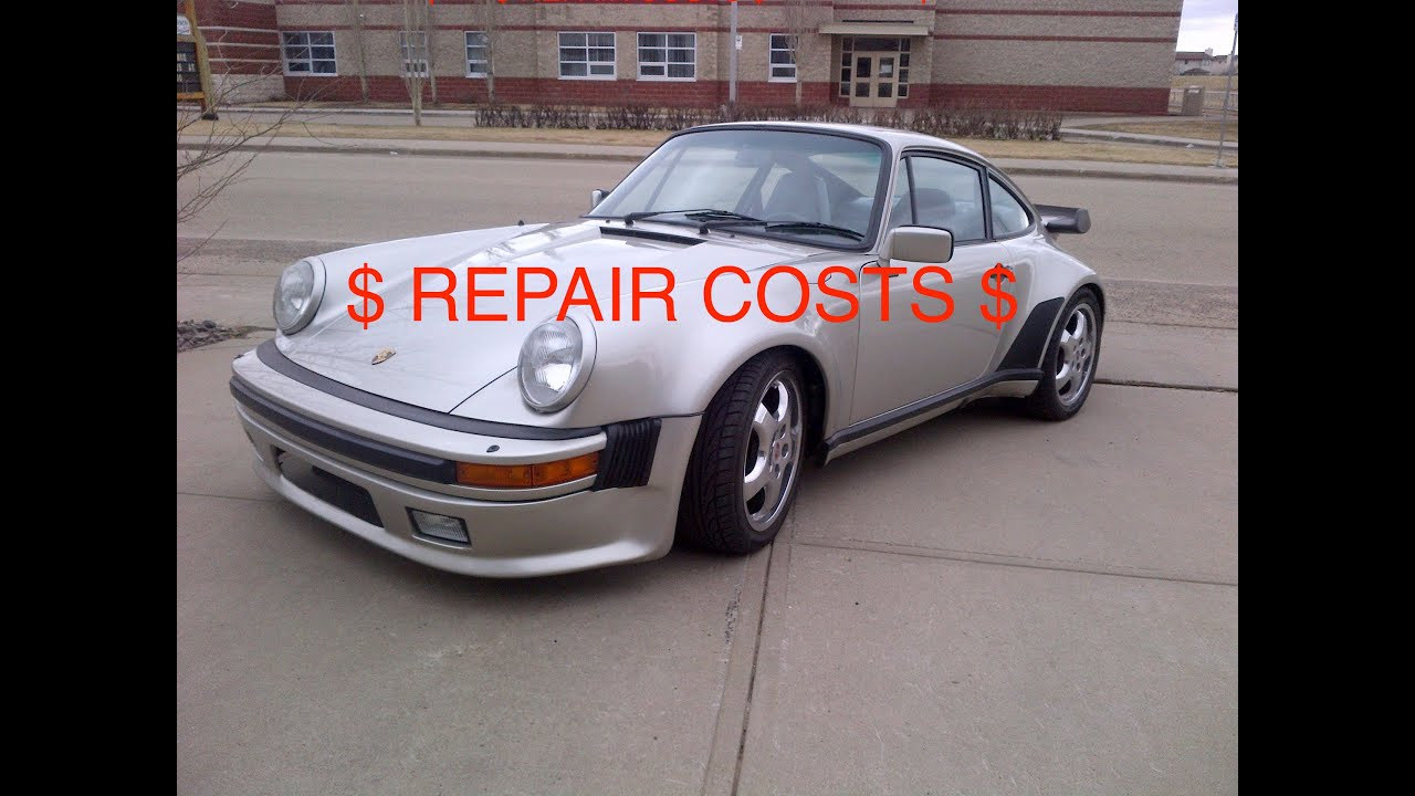 Porsche 930 Turbo Maintenance Pucker Experience Youtube