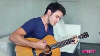"Kris Allen - ""Vision Of Love (Perez Hilton Acoustic Performance)"""