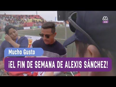 ¡El fin de semana de Alexis Sánchez en Tocopilla! - Mucho Gusto 2017
