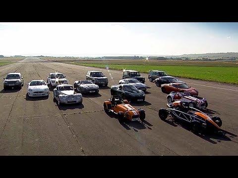 Australia vs GB Challenge - Top Gear - The Stig - BBC