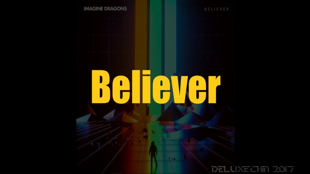 Believer - Imagine Dragons Lyrics (HQ) - YouTube