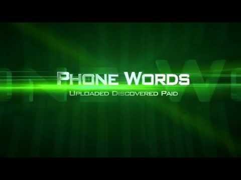 Phone Words