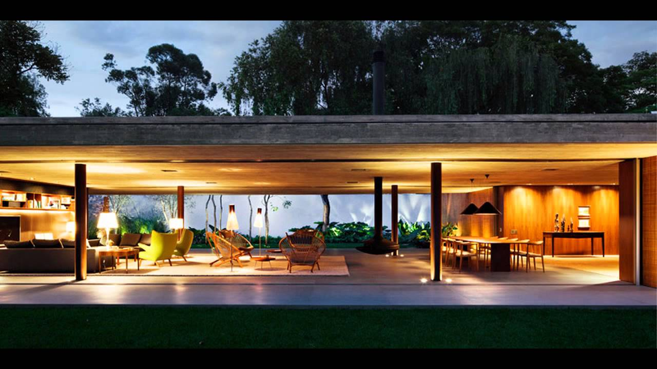 Open layout house concept by studio mk27 - The V4 House By Studio Mk27