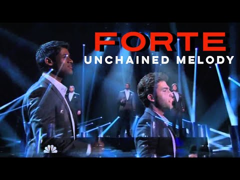 Forte Tenors  Unchained Melody  Americas Got Talent  Radio City