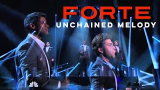 Forte Tenors - Unchained Melody - Americas Got Talent - Radi...