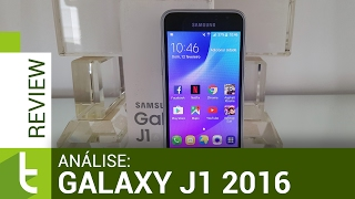 Análise Galaxy J1 2016 | Review do TudoCelular