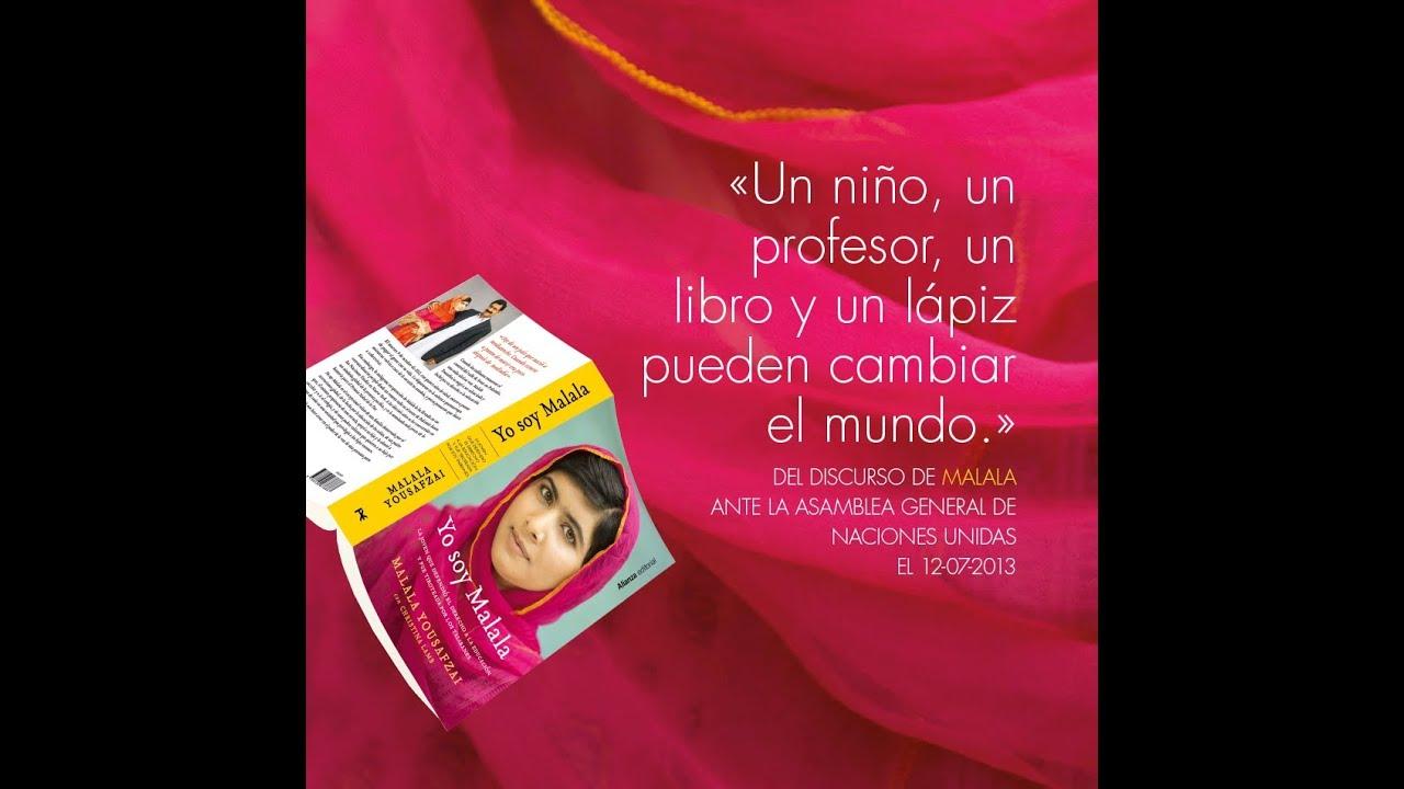 Malala Yousafzai Biografía Frases Libro Premio Nobel Y Más