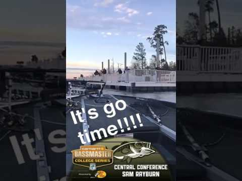 Snapchat takeover 1: 2017 Bassmaster College Central Conference Regional