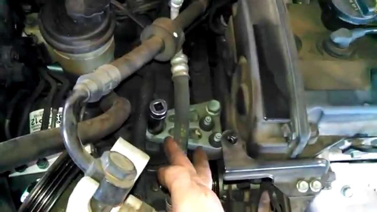timing belt replacement 2007