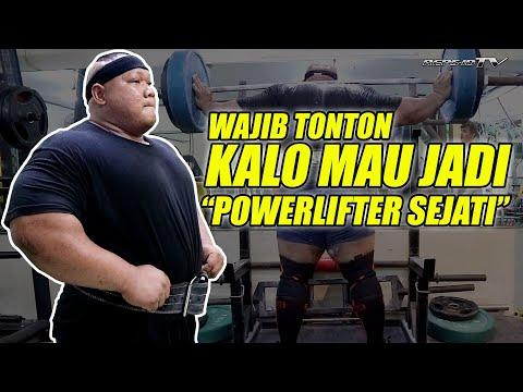 WAJIB TONTON TIPS UNTUK JADI POWERLIFTER | AJI SOEGANDA