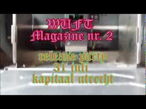 WUFT Magazine nr. 2 RISO printing
