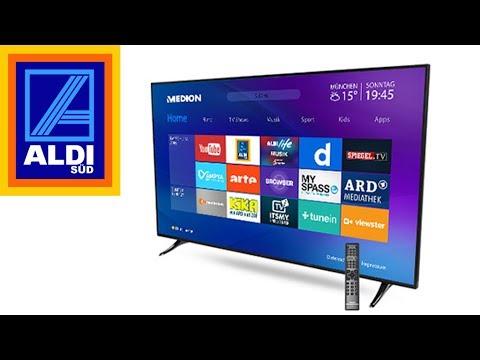 Aldi Süd: 4K-Fernseher mit 65 Zoll für unter 900 Euro