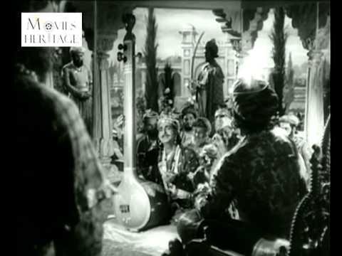 Tumre Gun Gaaye - FULL SONG VIDEO - Baiju Bawra (1952)