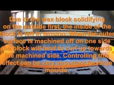 How To Use Machinable Wax On A Desk Top Or Hobby CNC (Roland SRM-20)