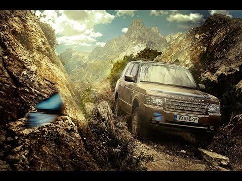 Photoshop Speed Retouching Land Rover