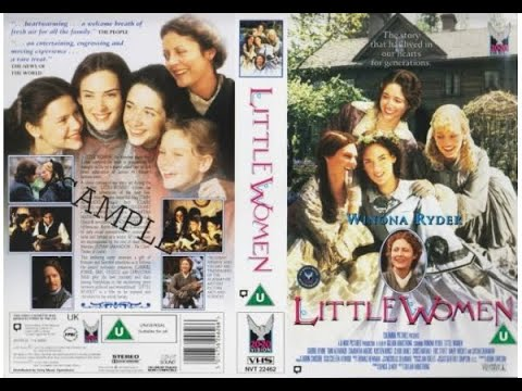 Original VHS Opening: Little Women (1995 UK Rental Tape)