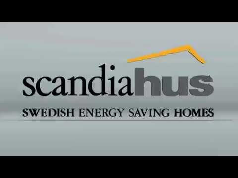 Scandia Hus Timber Frame House Time Lapse
