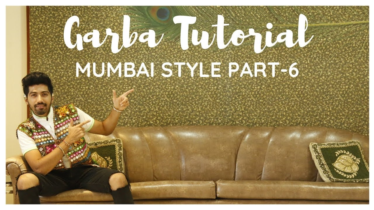 Garba Tutorial Video | Garba Steps Video | Learn Garba | Mumbai Style | Jenish Doshi | Part-6