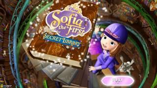 Игра София Прекрасная Sofia the First Секретная Библиотека The Secret Library игры для девочек