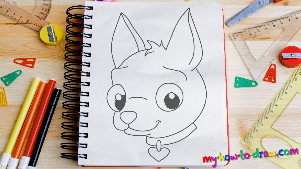 how to draw a chihuahua easy step by step drawing lessons for kids
