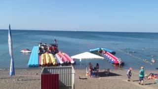 Крым пляж Судак 09:00,  27.06.16г.(Видео с пляжа, в Судаке жарко, море 24 градуса! ║◇✓ Не забудь подписаться - ║https://www.youtube.com/channel/UCN-PumiCycbmte5ZwdyRvGA..., 2016-06-27T09:32:45.000Z)